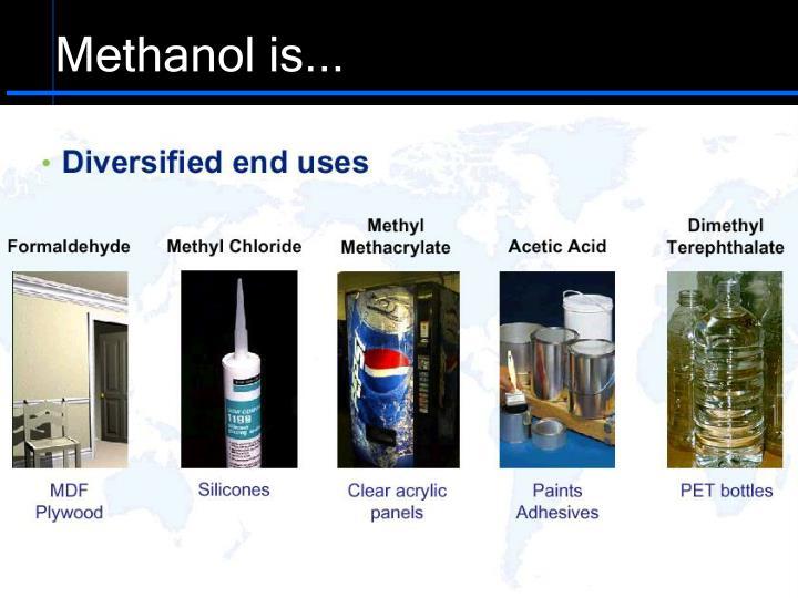 Methanol is...