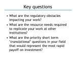 key questions3