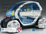 square wheels electronic medical records for discovery research in rheumatoid arthritis