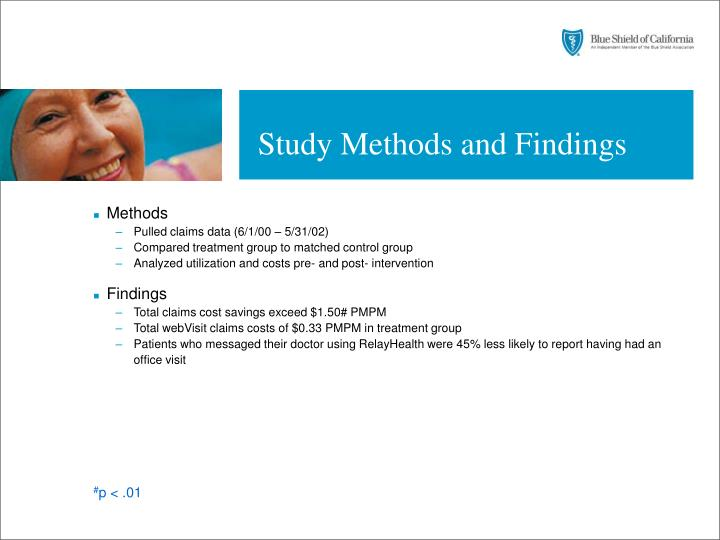 Study Methods and Findings