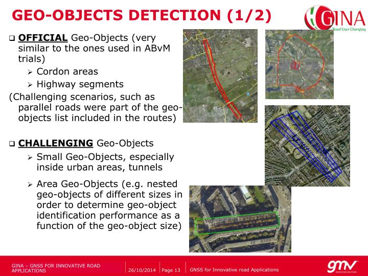 GEO-OBJECTS DETECTION (1/2)