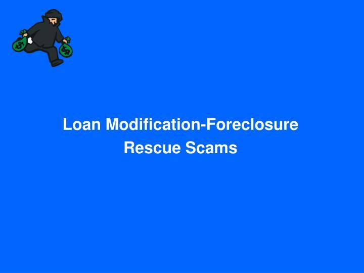 Loan Modification-Foreclosure