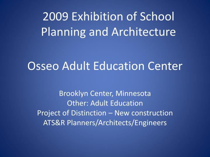 Osseo adult education center