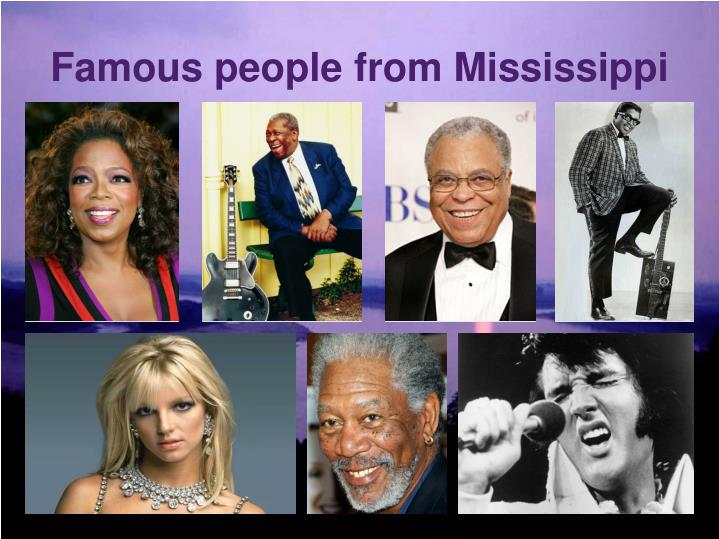 Famous people from Mississippi