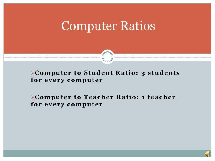 Computer Ratios