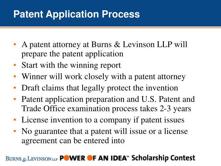 Patent Application Process