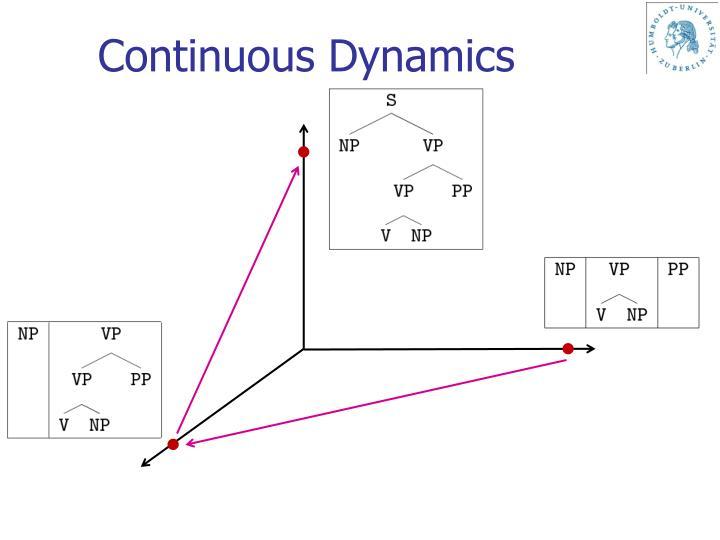 Continuous Dynamics