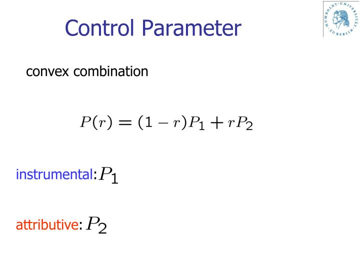 Control Parameter