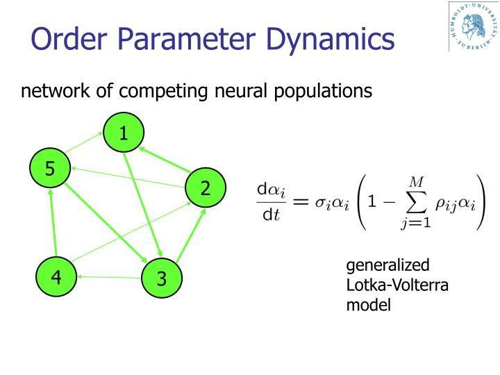Order Parameter Dynamics