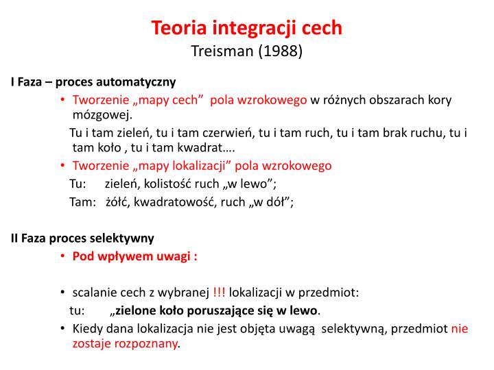 Teoria integracji cech