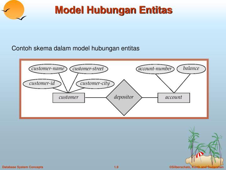 Model Hubungan Entitas