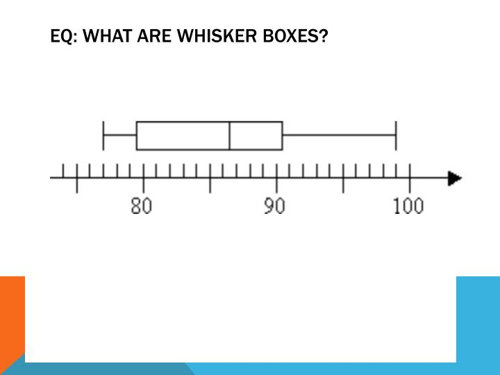 EQ: What are whisker Boxes?