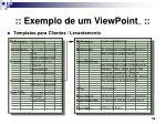 exemplo de um viewpoint 5