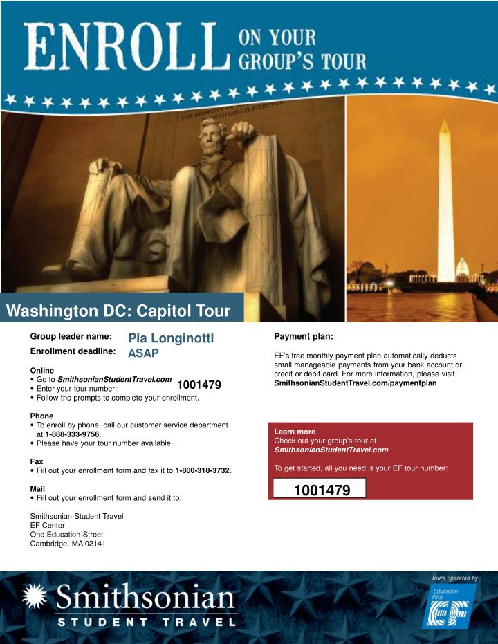 Washington DC: Capitol Tour