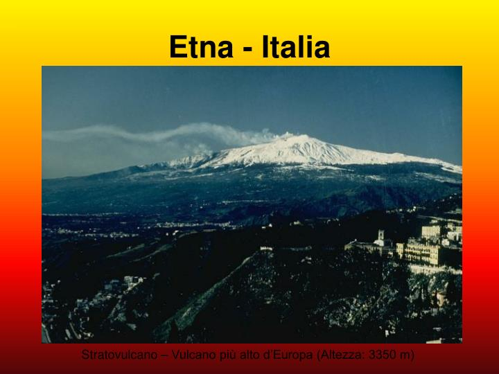 Etna - Italia