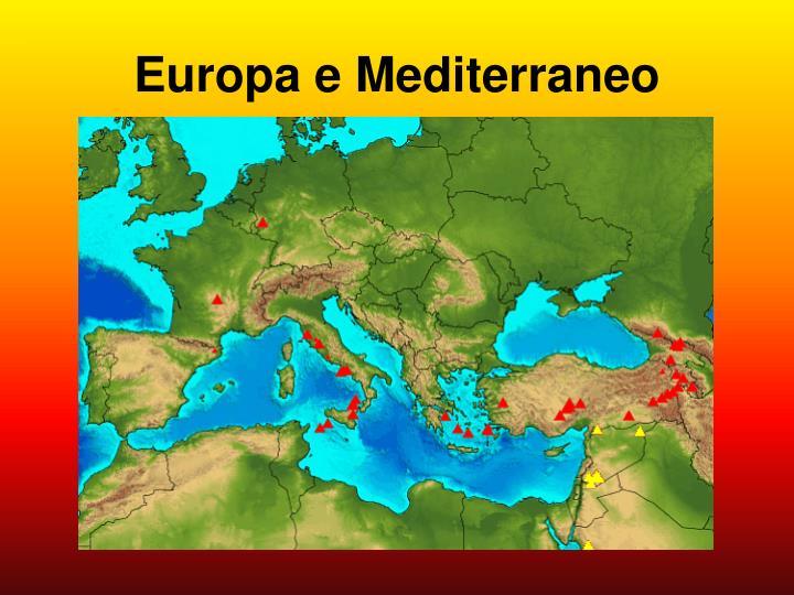 Europa e Mediterraneo