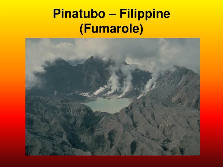 Pinatubo – Filippine