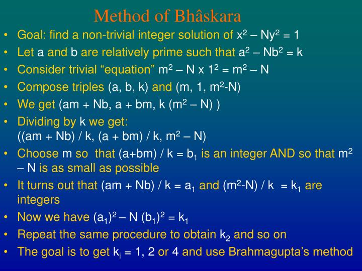 Method of Bh