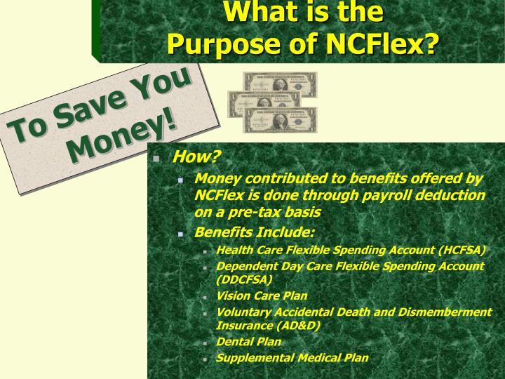 What is the purpose of ncflex