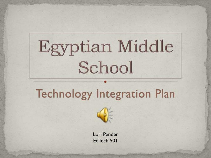 Egyptian middle school