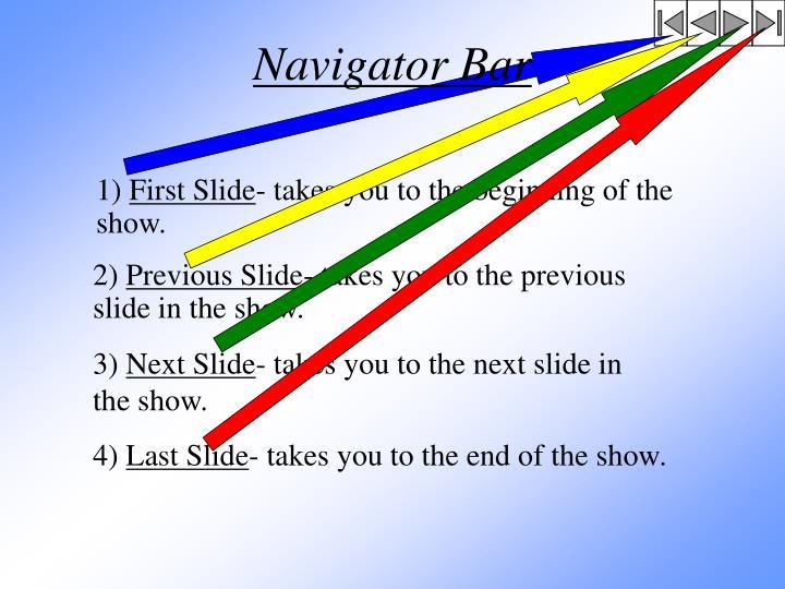 Navigator Bar