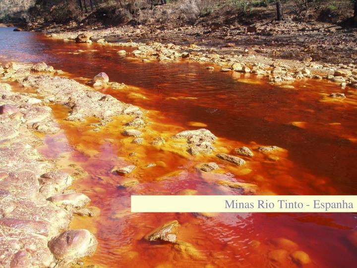 Minas Rio Tinto - Espanha