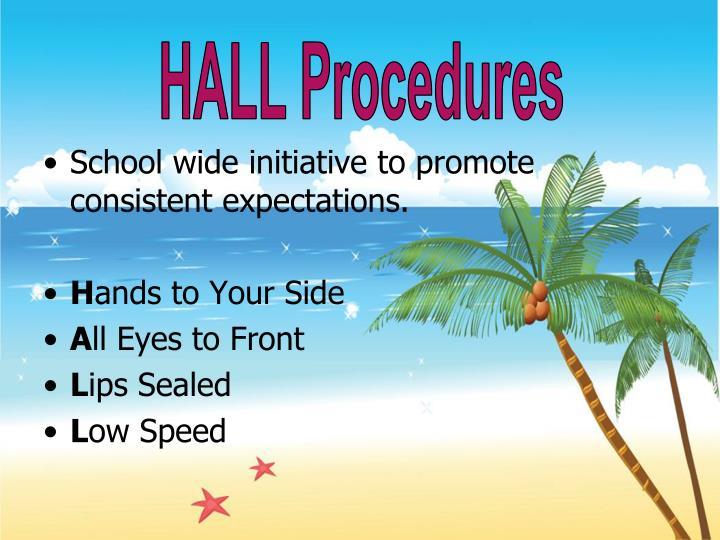 HALL Procedures