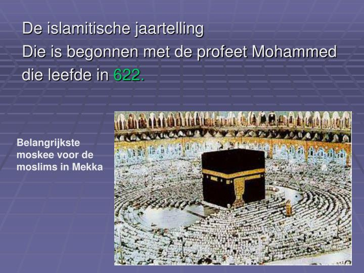 De islamitische jaartelling