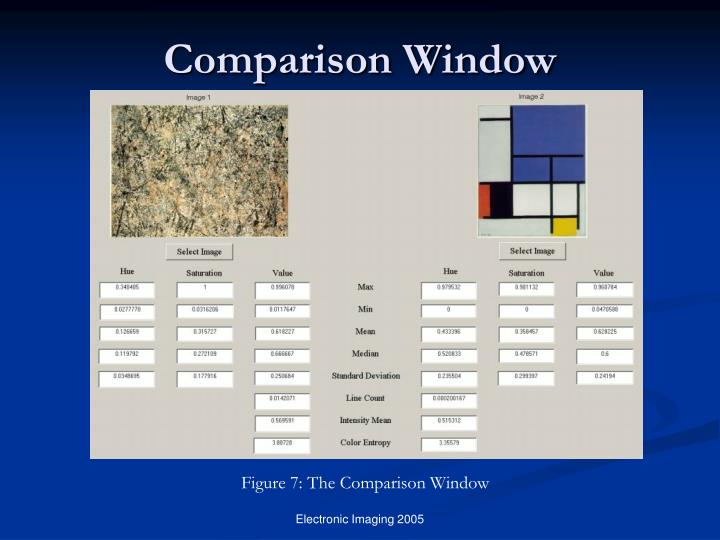 Comparison Window