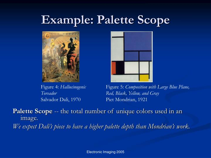 Example: Palette Scope