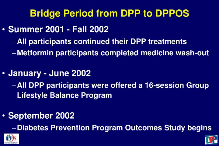 Bridge Period from DPP to DPPOS
