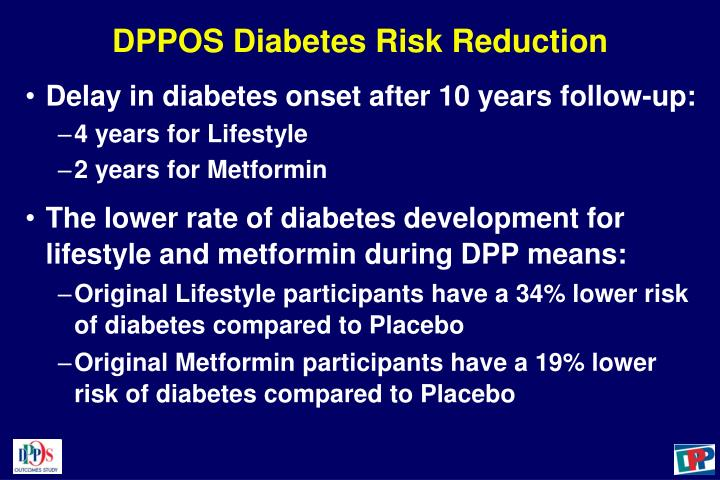 DPPOS Diabetes Risk Reduction