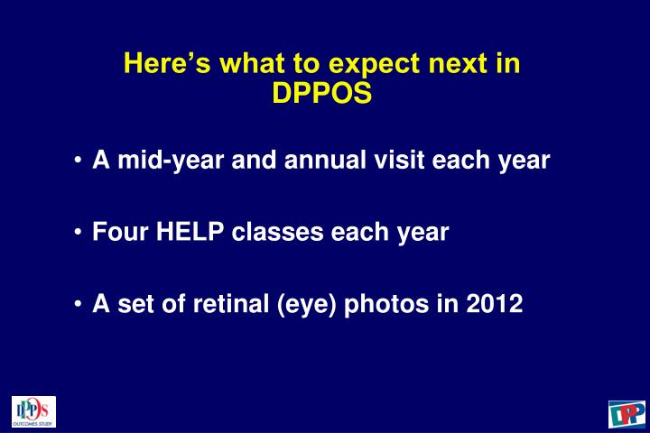 Here's what to expect next in DPPOS