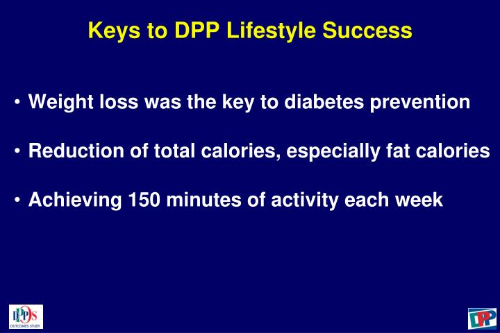 Keys to DPP Lifestyle Success