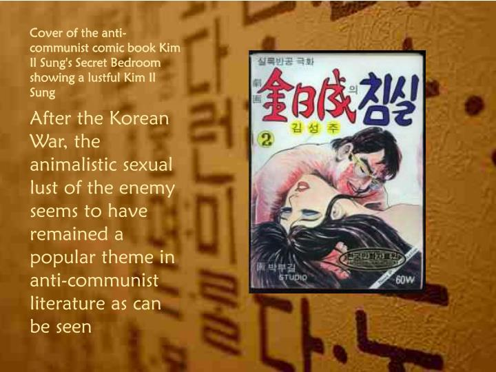 Cover of the anti-communist comic book Kim Il
