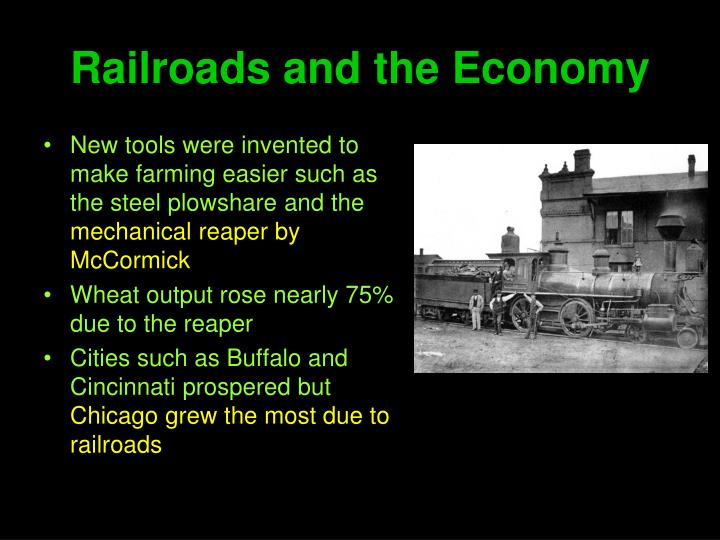 Railroads and the Economy