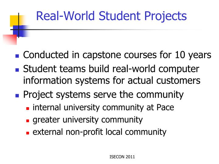 Real-World Student Projects