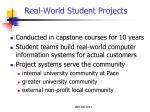 real world student projects