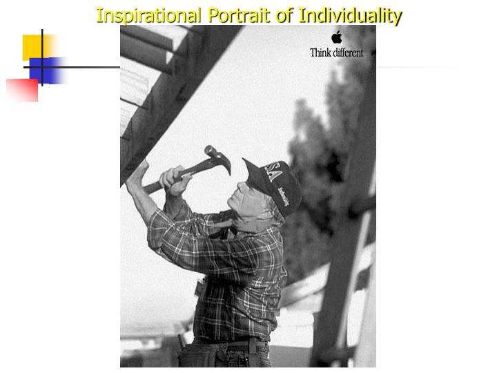 Inspirational Portrait of Individuality