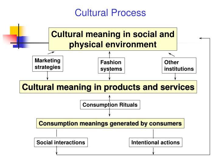 Cultural Process