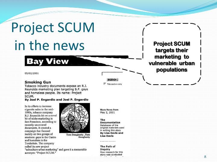 Project SCUM