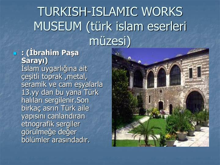 : (İbrahim Paşa Sarayı)