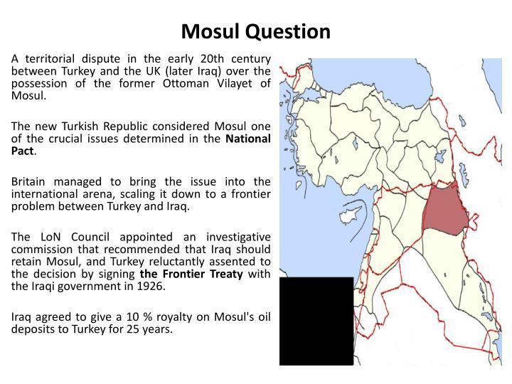 Mosul Question