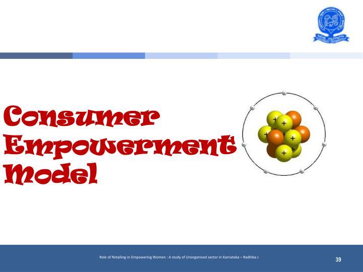 Consumer Empowerment Model