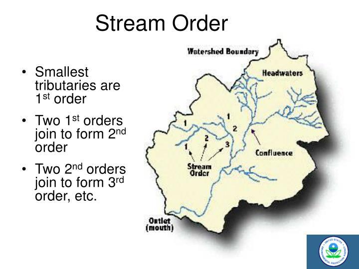 Stream Order