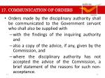 17 communication of orders1