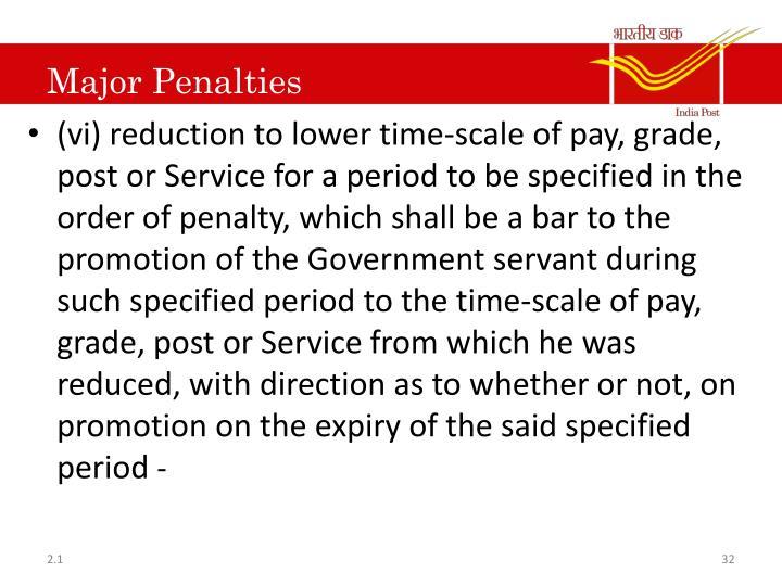 Major Penalties