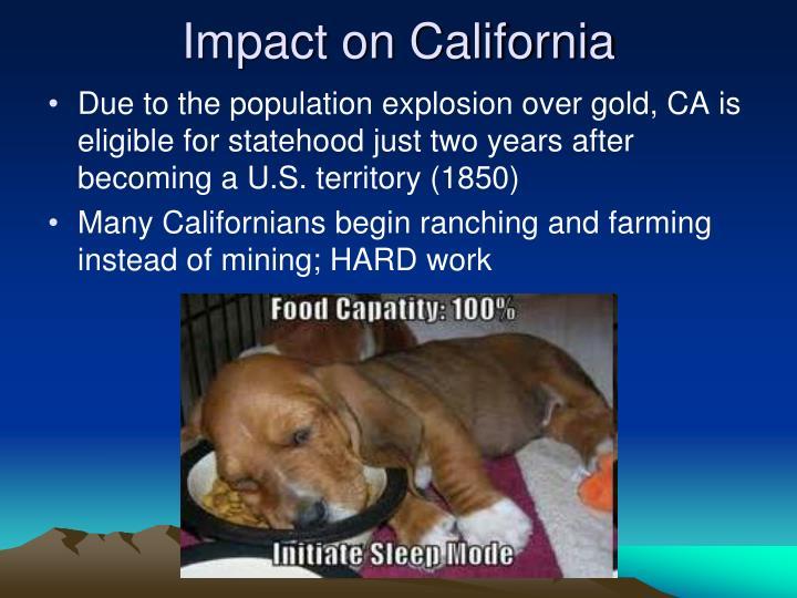Impact on California