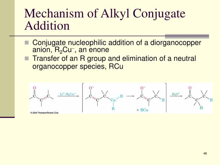 Mechanism of Alkyl Conjugate Addition