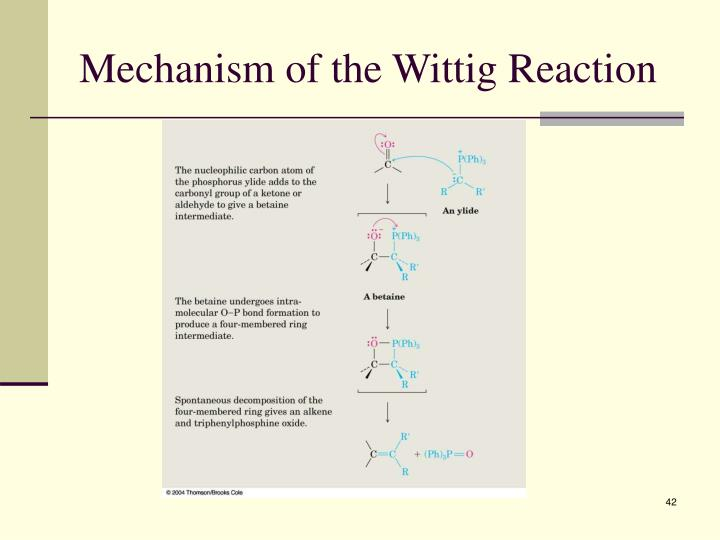 Mechanism of the Wittig Reaction